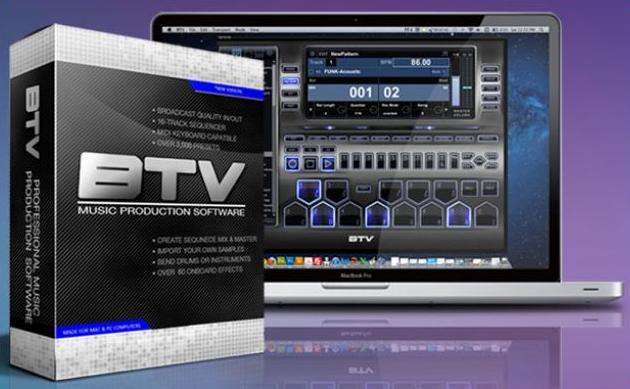 BTV Music Production Software
