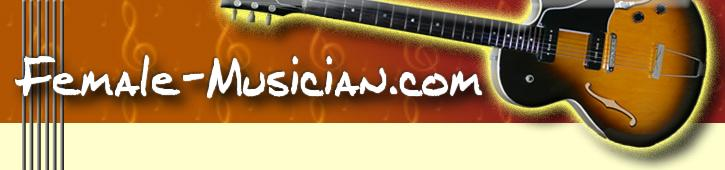 logo for female-musician.com