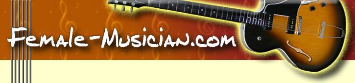 logo for female-musician.com